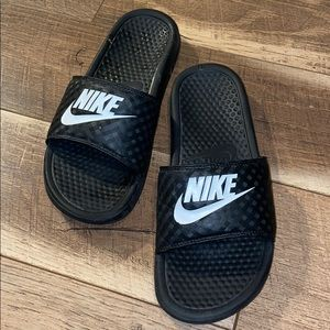 NIKE women's Gently Worn Slides